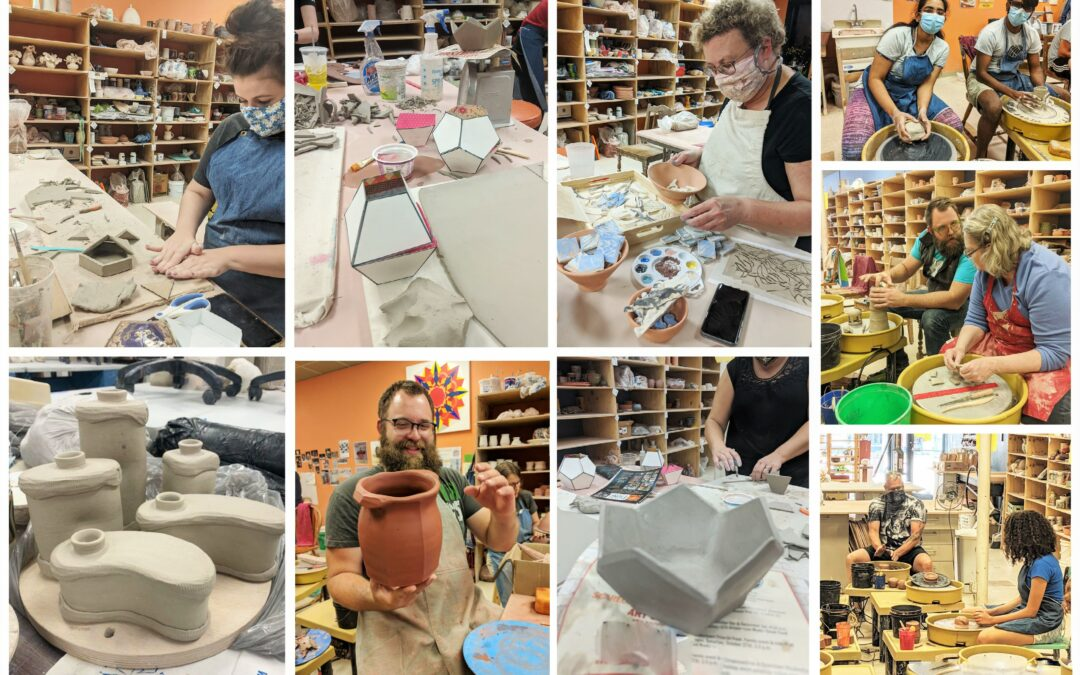 Spring I & II Pottery Wheel & Hand Building Classes