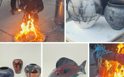 Gallery Night & Raku at Cream City Clay – Spring 2020